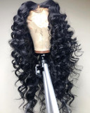 Ulovewigs Human Virgin Hair Loose deep Curl Pre Plucked Lace Front Wig &Full Lace Wig For Black Woman Free Shipping(ULW0046)