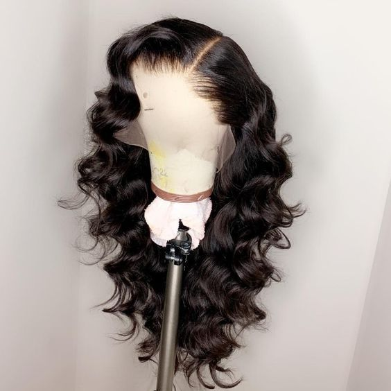 Ulovewigs Human Virgin Hair  Pre Plucked Lace Front Wig Free Shipping(ULW0047)
