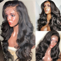 Ulovewigs Human Virgin Hair Pre Plucked Lace Front Wig  Free Shipping(ULW0074)