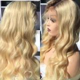 Ulovewigs Human Virgin Hair 613 Color Pre Plucked Lace Front Wig And Full Lace Wig Free Shipping (ULW0096)