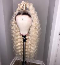 Ulovewigs Human Virgin Hair Pre Plucked Lace Front Wig Free Shipping(ULW0105)