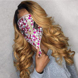 Ulovewigs Human Virgin Hair Ombre Wave Pre Plucked Lace Front Wig And Full Lace Wig For Black Woman Free Shipping (ULW0111)