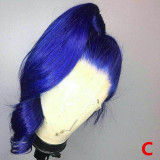 Ulovewigs Colour Profusion Human Virgin Hair Ombre Wave Pre Plucked Lace Front Wig And Full Lace Wig  Free Shipping (ULW0125)