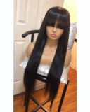 Ulovewigs Human Virgin Hair  Pre Plucked Lace Front Wig   Free Shipping (ULW0139)