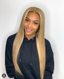 Ulovewigs Human Virgin Hair  Pre Plucked Lace Front Wig And Full Lace Wig For Black Woman Free Shipping (ULW0148)