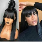 Ulovewigs Human Virgin Hair Pre Plucked Lace Front Wig  Free Shipping (ULW0131)