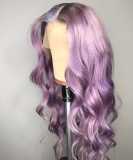 Ulovewigs Human Virgin Hair Pre Plucked Lace Front Wig And Full Lace Wig  Free Shipping (ULW0167)