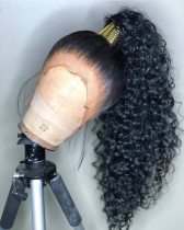 Ulovewigs Human Virgin Hair Pre Plucked Lace Front Wig And Full Lace Wig For Black Woman Free Shipping (ULW0169)