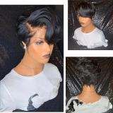 Ulovewigs Human Virgin Hair Pre Plucked Lace Front Wig  Free Shipping (ULW0174)