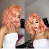 Ulovewigs Human Virgin Hair Pre Plucked Lace Front Wig And Full Lace wig Free Shipping (ULW0190)
