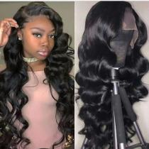 Ulovewigs Human Virgin Hair Pre Plucked Lace Front Wig  Free Shipping (ULW0192)