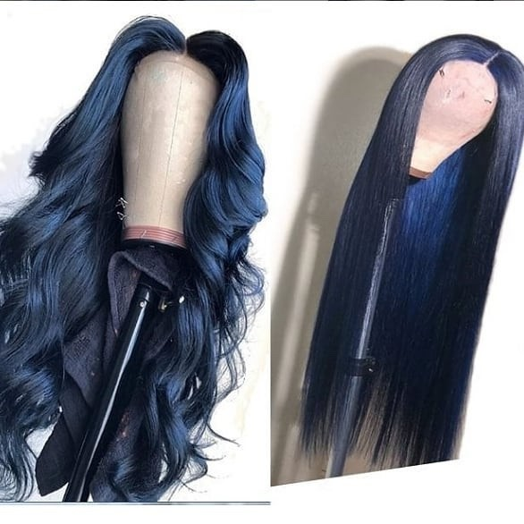 Ulovewigs Human Virgin Hair  Pre Plucked Lace Front Wig  Free Shipping (ULW0194)