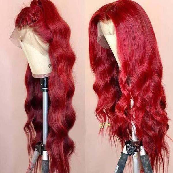 Ulovewigs Human Virgin Hair Pre Plucked Lace Front  Wig Free Shipping (ULW0201)