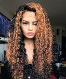 Ulovewigs Human Virgin Hair Pre Plucked Lace Front Wig  Free Shipping (ULW0203)