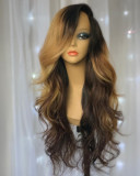 Ulovewigs Human Virgin Hair Pre Plucked Lace Front Wig  Free Shipping (ULW0206)