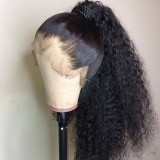 Ulovewigs Human Virgin Hair Pre Plucked Lace Front Wig Free Shipping (ULW0213)