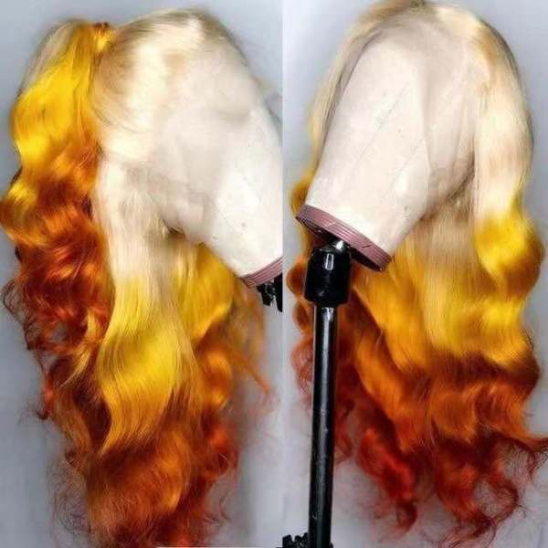 Ulovewigs Human Virgin Hair  Pre Plucked Lace Front Wig And Full Lace Wig  For Black Woman Free Shipping (ULW0212)