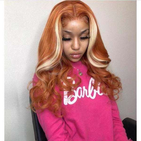 Ulovewigs Human Virgin Hair Pre Plucked Lace Front Wig And Full Lace Wig   Free Shipping (ULW0227)
