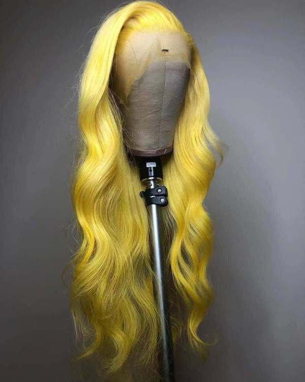 Ulovewigs Human Virgin Hair Pre Plucked Lace Front Wig And Full Lace Wig  Free Shipping (ULW0229)