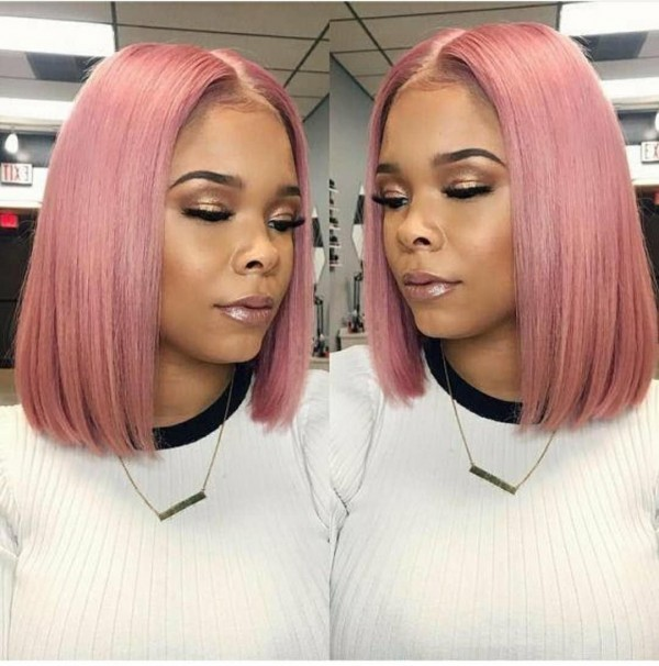 Ulovewigs Human Virgin Hair Pre Plucked Lace Front Wig And Full Lace Wig  Free Shipping (ULW0225)