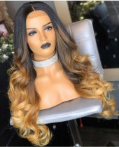 Ulovewigs Human Virgin Hair Pre Plucked Lace Front Wig  Free Shipping (ULW0234)