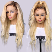 Ulovewigs Human Virgin Hair Pre Plucked Lace Front Wig And Full Lace Wig   Free Shipping (ULW0230)