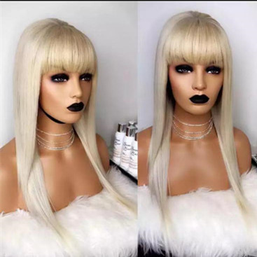 Ulovewigs Human Virgin Hair Pre Plucked Lace Front Wig And Full Lace Wig  Free Shipping (ULW0255)