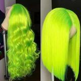 Ulovewigs Human Virgin Hair Pre Plucked Lace Front Wig And Full Lace Wig  Free Shipping (ULW0260)