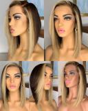 Ulovewigs Human Virgin Hair Pre Plucked Lace Front Wig  Free Shipping (ULW0272)