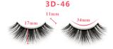 Ulovewigs 3D Mink Hair False Eyelashes Natural/Thick Long Eye Lashes Wispy Makeup Beauty Extension Tools(eye10)