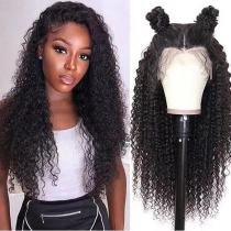 Ulovewigs Human Virgin Hair Pre Plucked Lace Front Wig  Free Shipping (ULW0289)