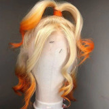 Ulovewigs Human Virgin Hair Pre Plucked Lace Front Wig And Full Lace Wig  Free Shipping (ULW0253)