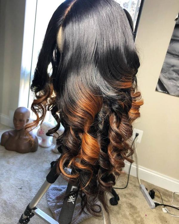 Ulovewigs Human Virgin Hair Pre Plucked Lace Front Wig  Free Shipping (ULW0294)