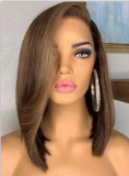 Ulovewigs Human Virgin Hair Pre Plucked Lace Front Wig  Free Shipping (ULW0292)