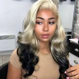 Ulovewigs Human Virgin Hair Pre Plucked Lace Front Wig And Full Lace Wig  Free Shipping (ULW0290)