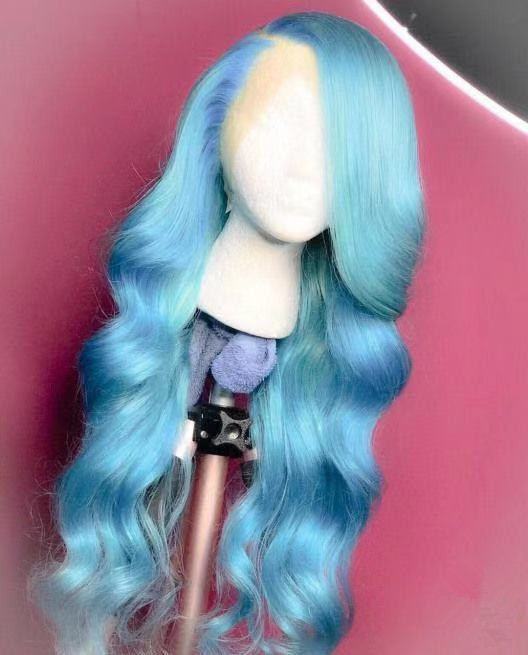 Ulovewigs Human Virgin Hair Pre Plucked Lace Front Wig And Full Lace Wig  Free Shipping (ULW0300)