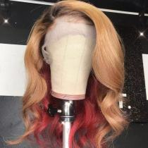 Ulovewigs Human Virgin Hair Pre Plucked Lace Front Wig And Full Lace Wig Free Shipping (ULW0319)
