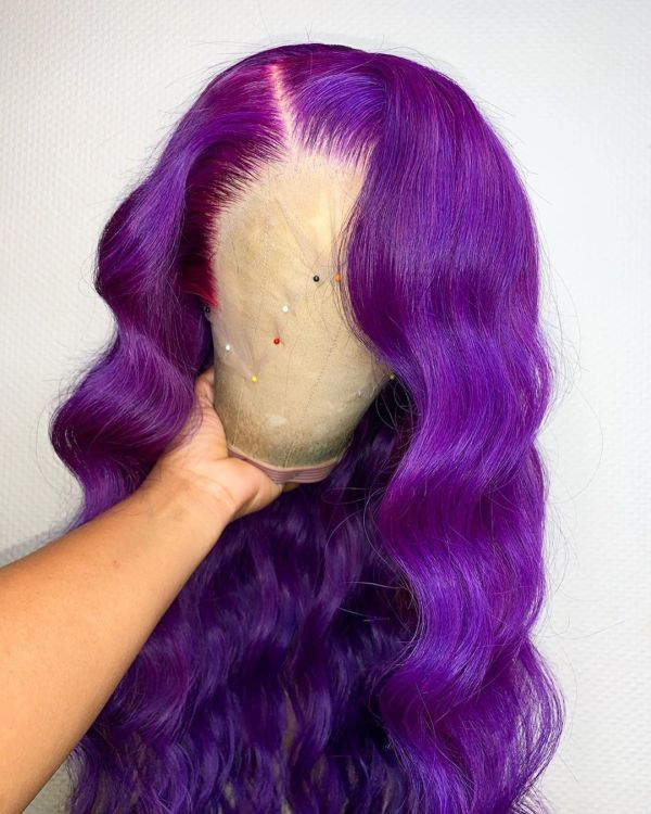 Ulovewigs Human Virgin Hair Pre Plucked Lace Front Wig And Full Lace Wig 5X5 lace wig  Free Shipping (ULW0322)