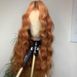 Ulovewigs Human Virgin Hair Pre Plucked Lace Front Wig  Free Shipping (ULW0331)