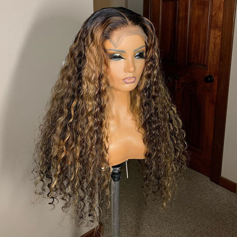 Ulovewigs Human Virgin Hair Pre Plucked Lace Front Wig And Full Lace Wig Free Shipping (ULW0332)