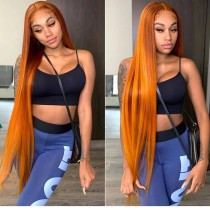 Ulovewigs Human Virgin Hair Pre Plucked 40inches Lace front Wig Free Shipping (ULW0345)