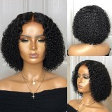 Ulovewigs Human Virgin Hair Pre Plucked Lace Front Wig  Free Shipping (ULW0363)
