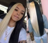 Ulovewigs Human Virgin Hair Pre Plucked Lace Front Wig  Free Shipping (ULW0367)