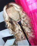 Ulovewigs Human Virgin Hair Pre Plucked Lace Front Wig And Full Lace Wig 5X5 lace wig Free Shipping (ULW0368)