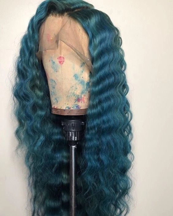 Ulovewigs Human Virgin Hair Pre Plucked Lace Front Wig And Full Lace Wig 5X5 lace wig Free Shipping (ULW0371)