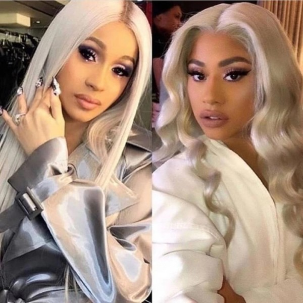 Ulovewigs Human Virgin Hair Pre Plucked Lace Front Wig Free Shipping (ULW0380)