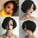 Ulovewigs Human Virgin Hair Pre Plucked Lace Front Wig And Full Lace Wig Free Shipping (ULW0382)