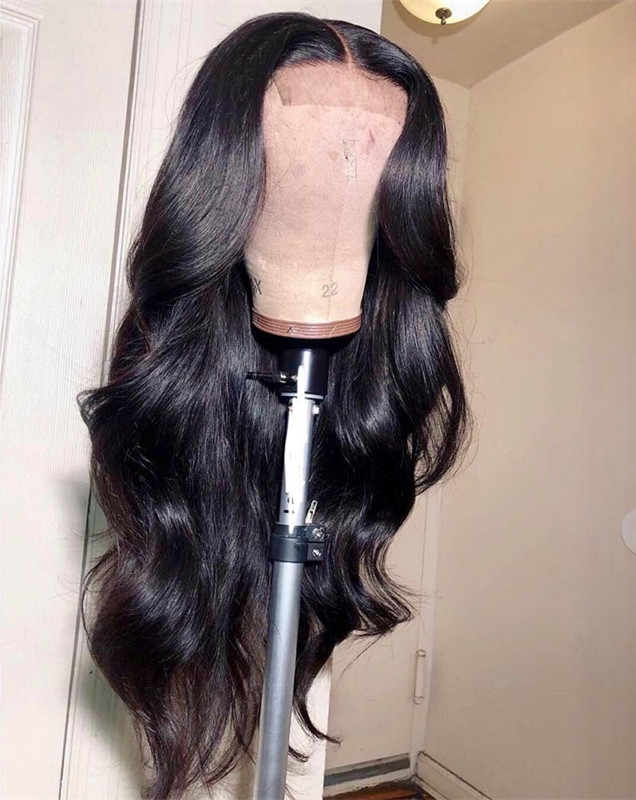Ulovewigs Human Virgin Hair  Pre Plucked Lace Front Wig  Free Shipping (ULW0171)
