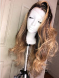 Ulovewigs Human Virgin Hair Pre Plucked Lace Front Wig  Free Shipping (ULW0347)