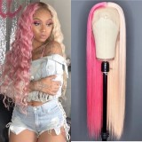 Ulovewigs Human Virgin Hair Pre Plucked Lace Front Wig  Free Shipping (ULW0385)